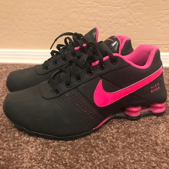 Pink Black Nike Shox. M 5b38b6b1194dad3fdcf143cb 0623bdae6